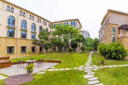 福元馨禧月子中心后院